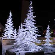 LED Crystal Fir Tree